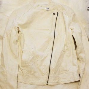 2bdcd085af0506 Forever 21 Jackets   Coats - NWT FOREVER 21 White Moto Biker Jacket